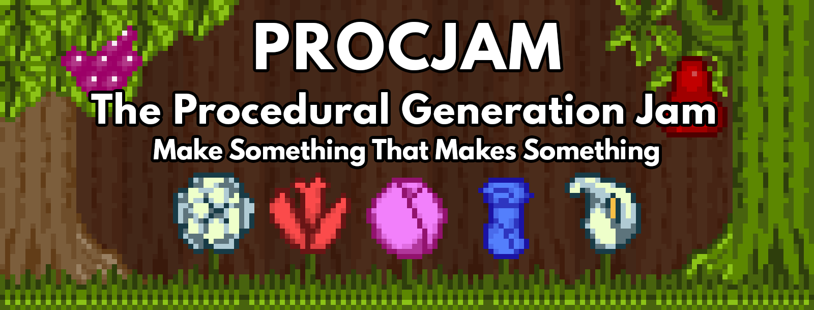 Procedural Generation Jam 2016 - itch io